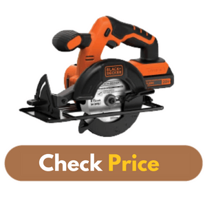BLACK DECKER BDCCS20C 20V MAX - Best Circular Saw for Plywood Product Image