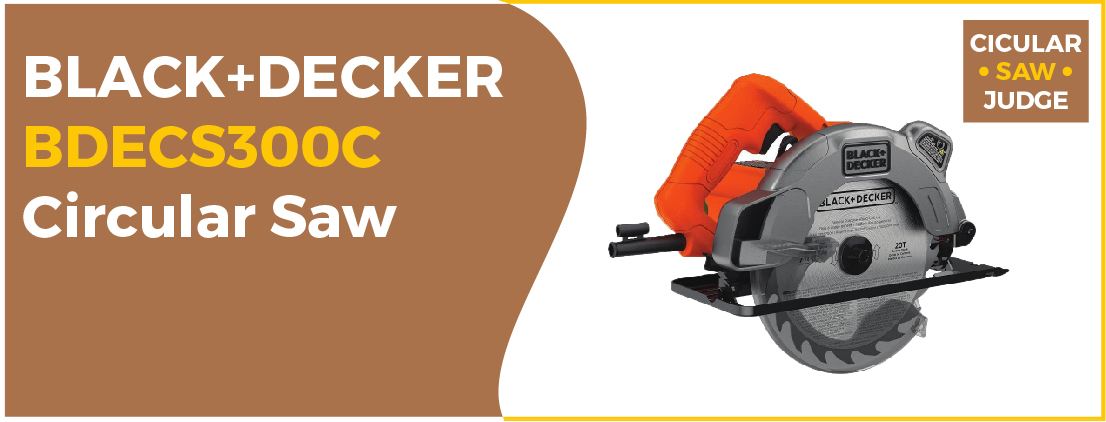 BLACK+DECKER BDECS300C - Best Compact Circular Saw