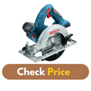 Bosch Bare-Tool CCS180B 18-Volt - Best Circular Saw for Woodworking Product Image