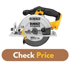 DEWALT DCS391B 20 Volt - Best Circular Saw For Beginners Product Image