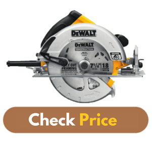 DEWALT DWE575SB - Best Circular Saw for Framing product image