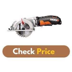 "WORX WORXSAW 4-1/2"" - Best Circular Saw for Plywood Product Image"