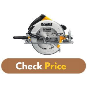 DEWALT DWE575SB - Best Circular Saw for Woodworking Product Image