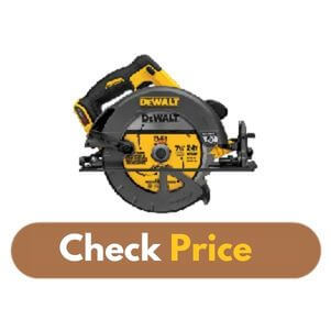 DEWALT DCS575B - Best Circular Saw for Hardwood Product Image
