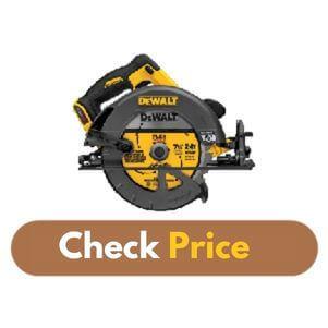 DEWALT DCS575B - Best Circular Saw for Hardwood Product Image