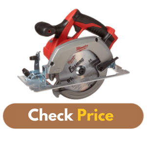 Milwaukee M18 2630-20 18 Volt - Best Circular Saw for Home Use Product Image