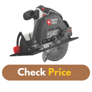 PORTER-CABLE PCC660B 20V MAX - Best Circular Saw Under 100 Product Image