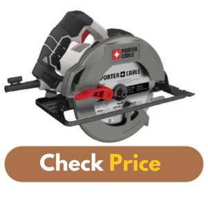 PORTER-CABLE PCE300 - Best Circular Saw for Woodworking product image