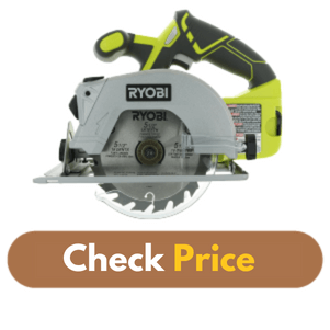 Ryobi P506 One - Best Circular Saw for the Money product image