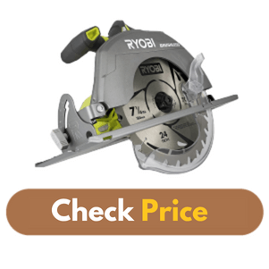 Ryobi P508 One+ 18V - Best Corded Circular Saw Product Image