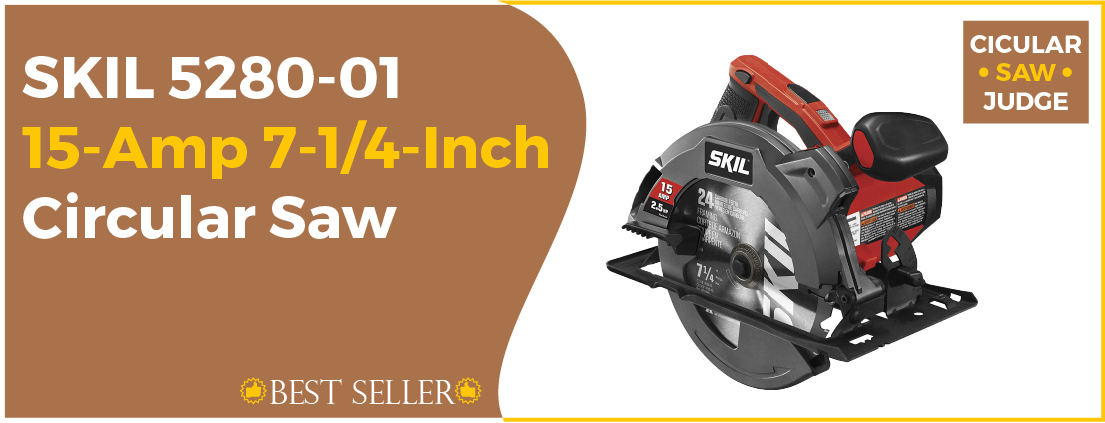 SKIL 5280-01 - Best Corded Circular Saw