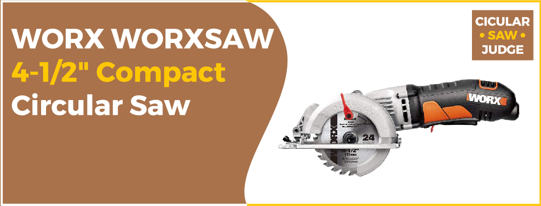WORX WORXSAW 4-12 - Best Circular Saw for Plywood